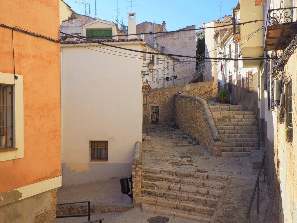 Callejuelas con encanto en el Barrio de San Miguel