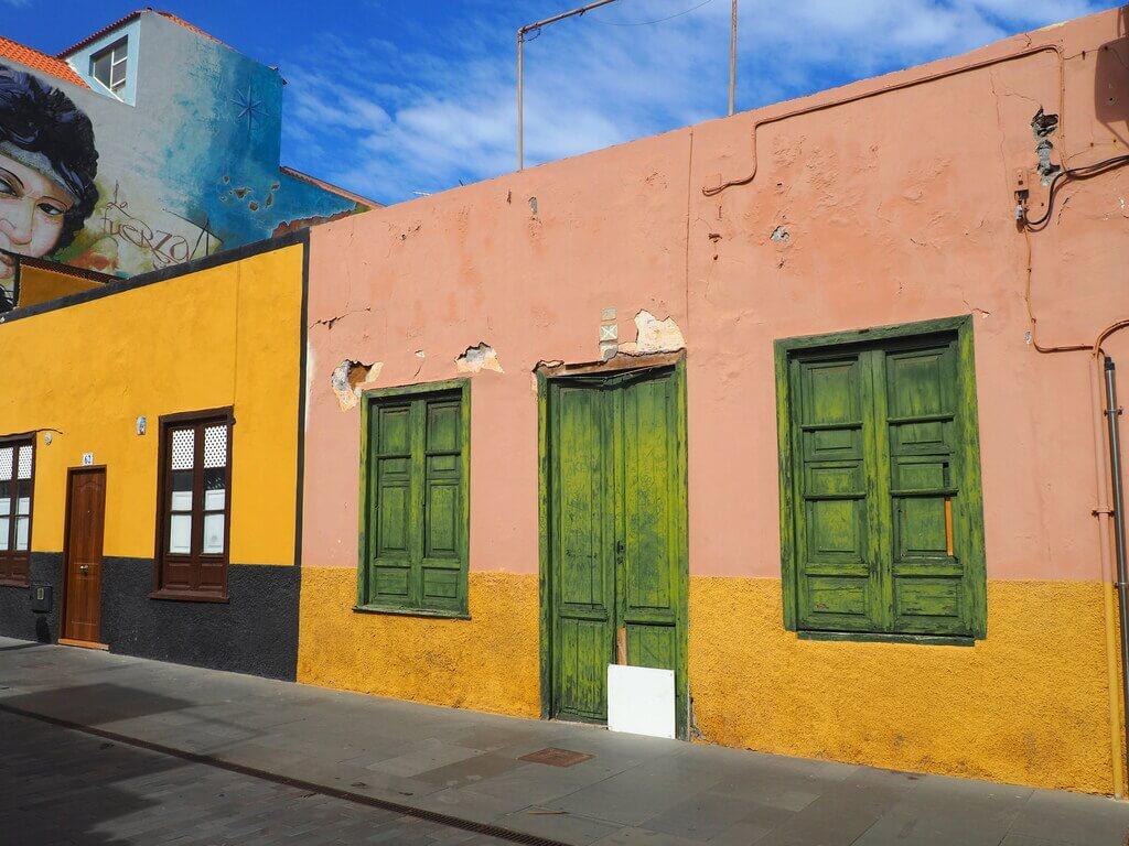 Casas de colores del barrio de La Ranilla