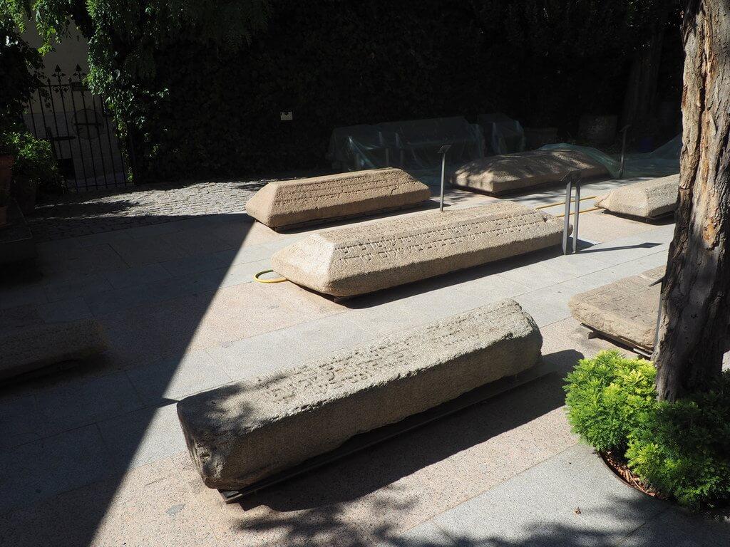 Patio del Museo Sefardí
