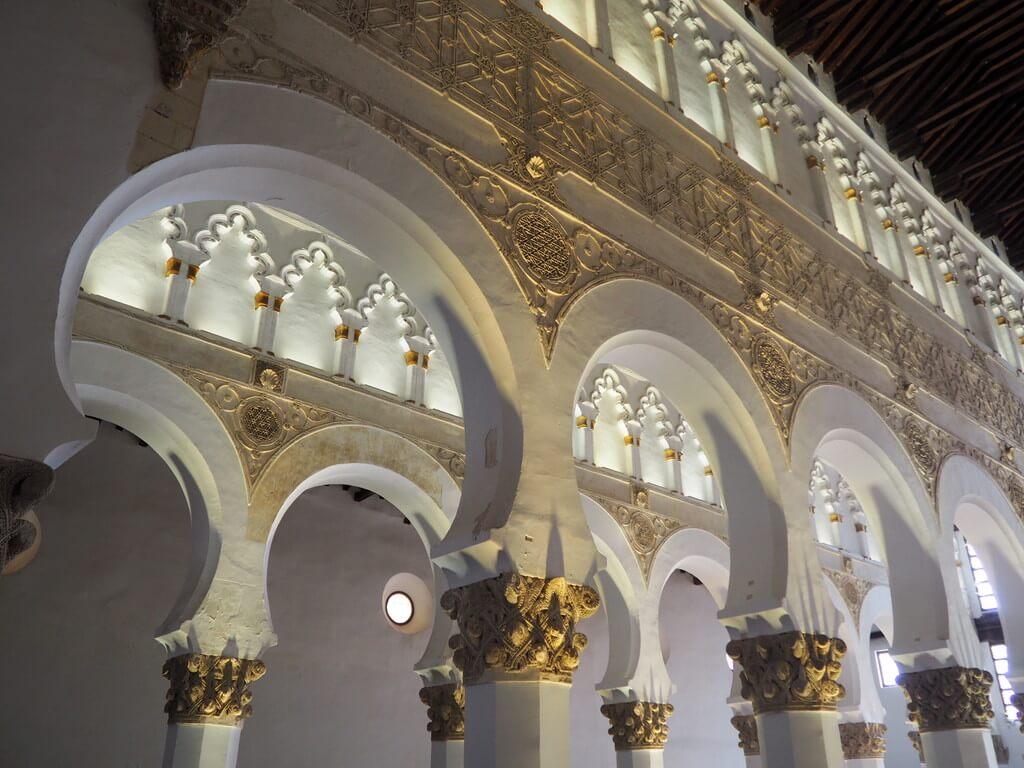 Interior Sinagoga Santa María la Blanca