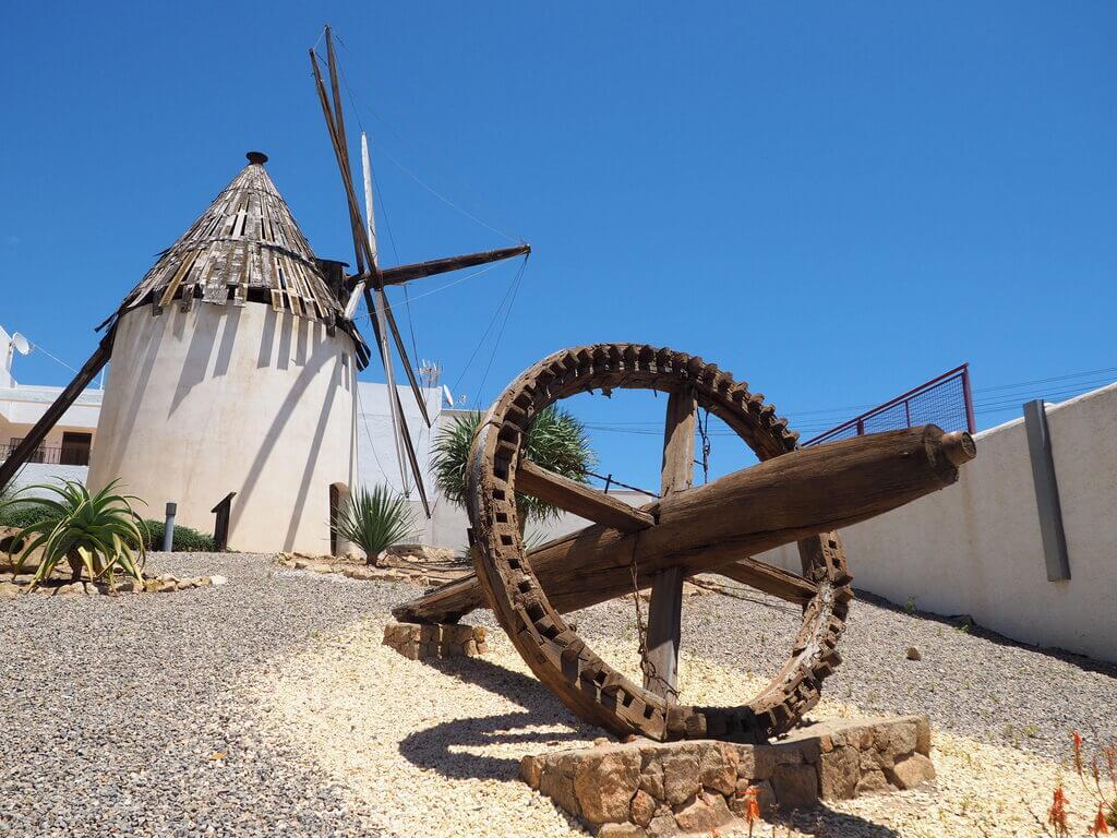 Molino restaurado de Carboneras