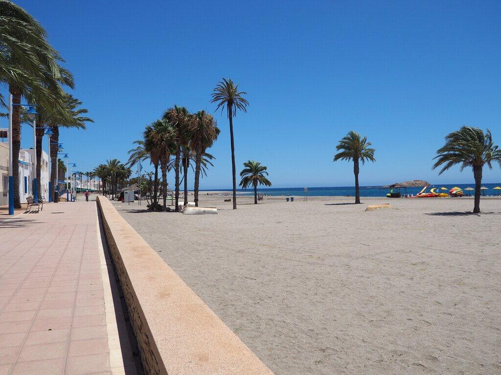 Playa El Ancón, Carboneras