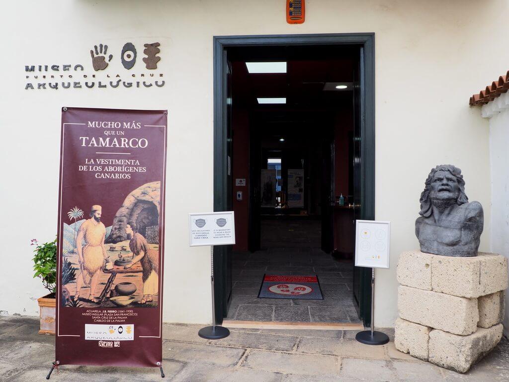 Puerta de entrada al Museo Arqueológico
