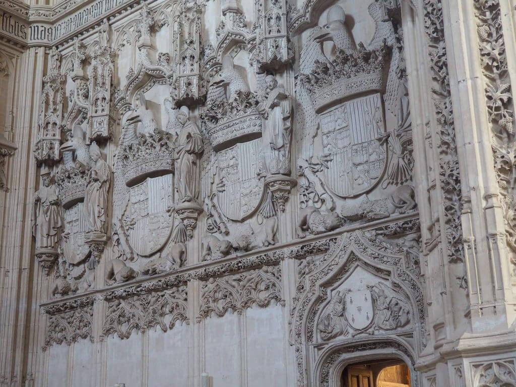 Detalle de los escudos