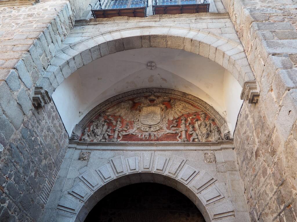 Detalle de la Puerta de Bisagra