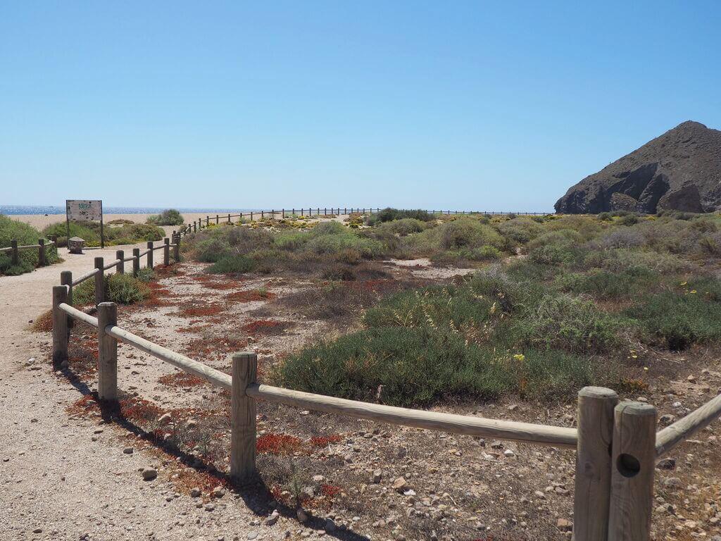 Camino de la Playa de los Muertos