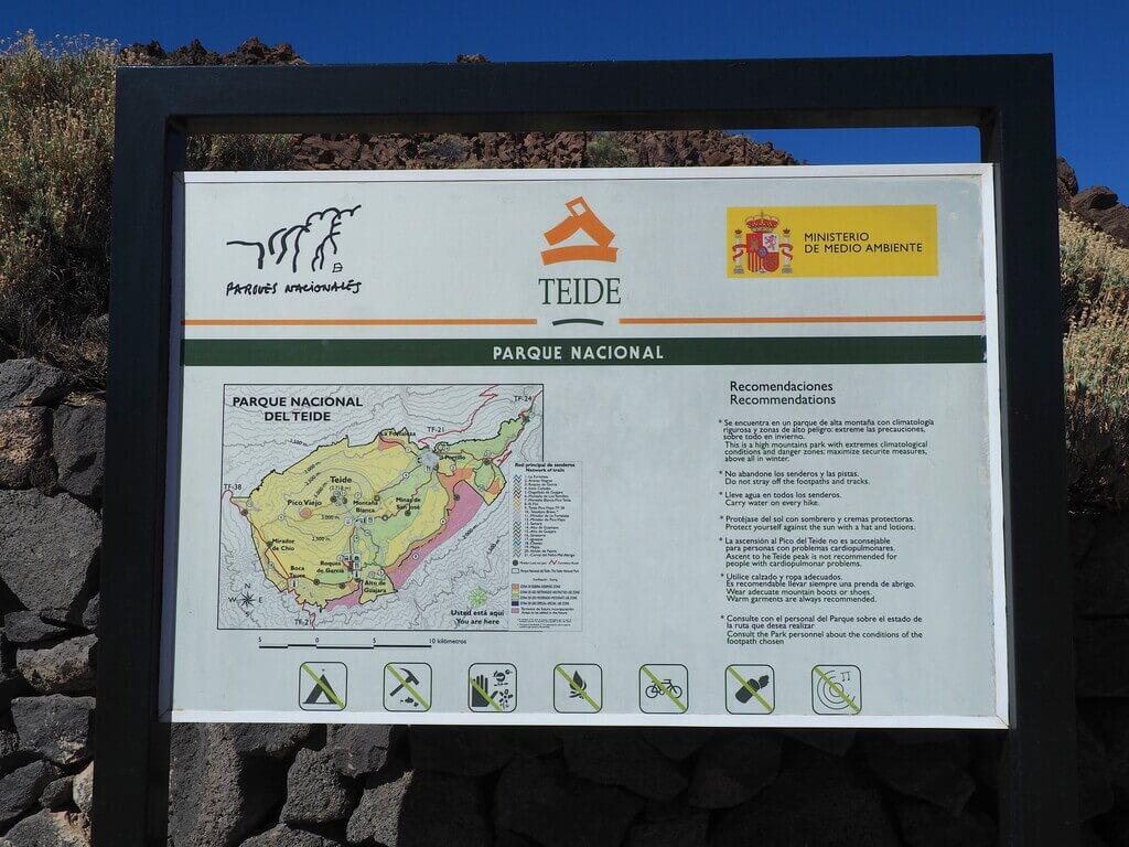 Bienvenid@ al Parque Nacional del Teide