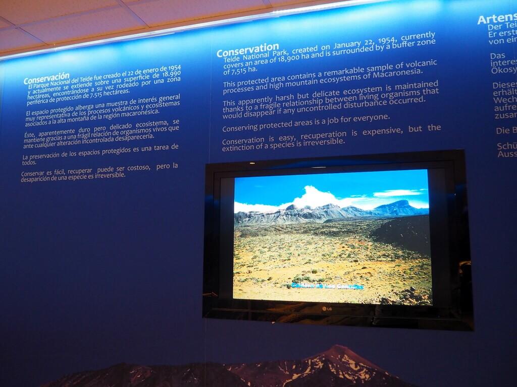 Panel explicativo del museo