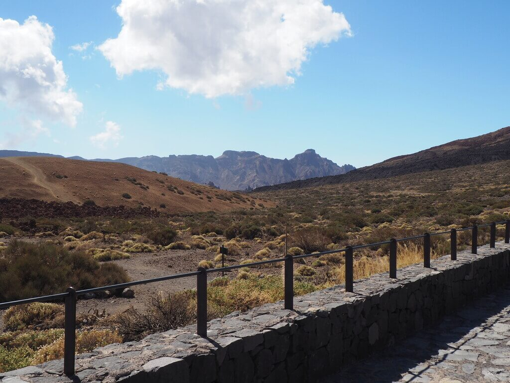 Recorriendo el Parque Nacional del Teide