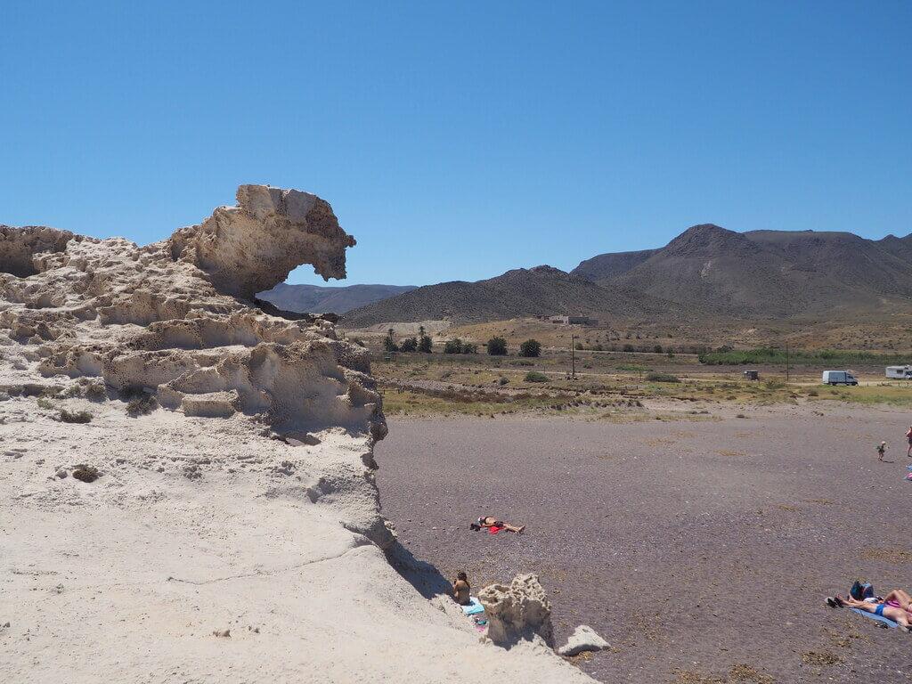 Playa del Arco, duna fósil