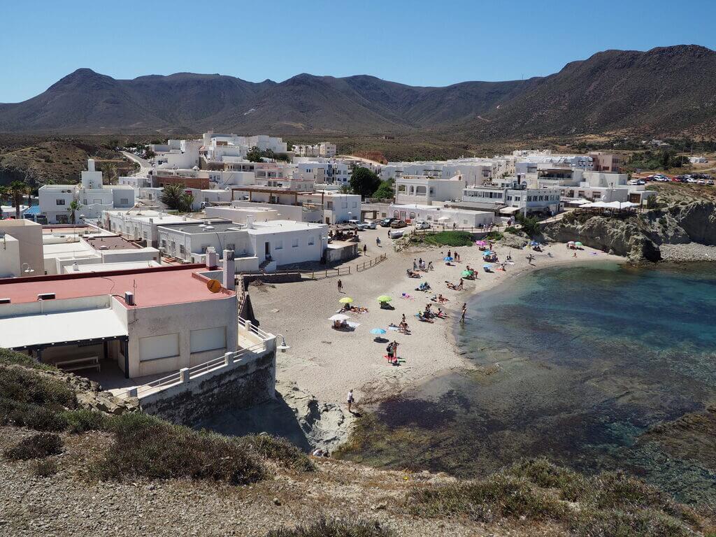 Una de las playas de La Isleta del Moro