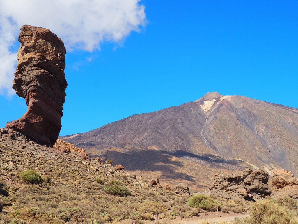 Roques de García, uno de los lugares más visitados del Parque Nacional del Teide