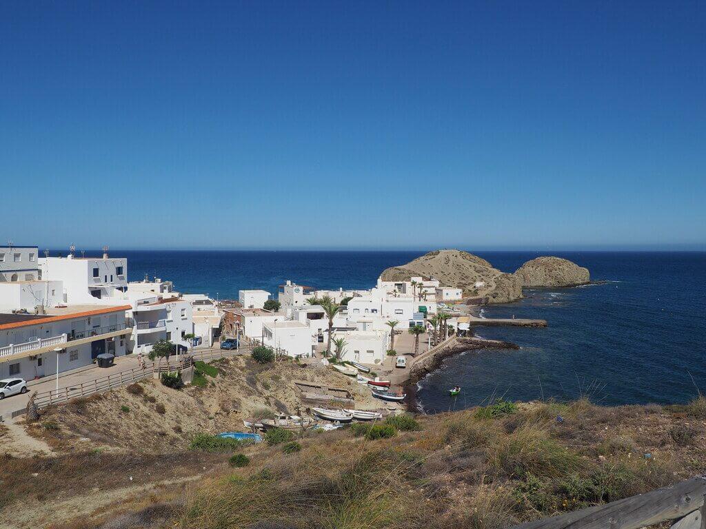 La Isleta del Moro desde el mirador