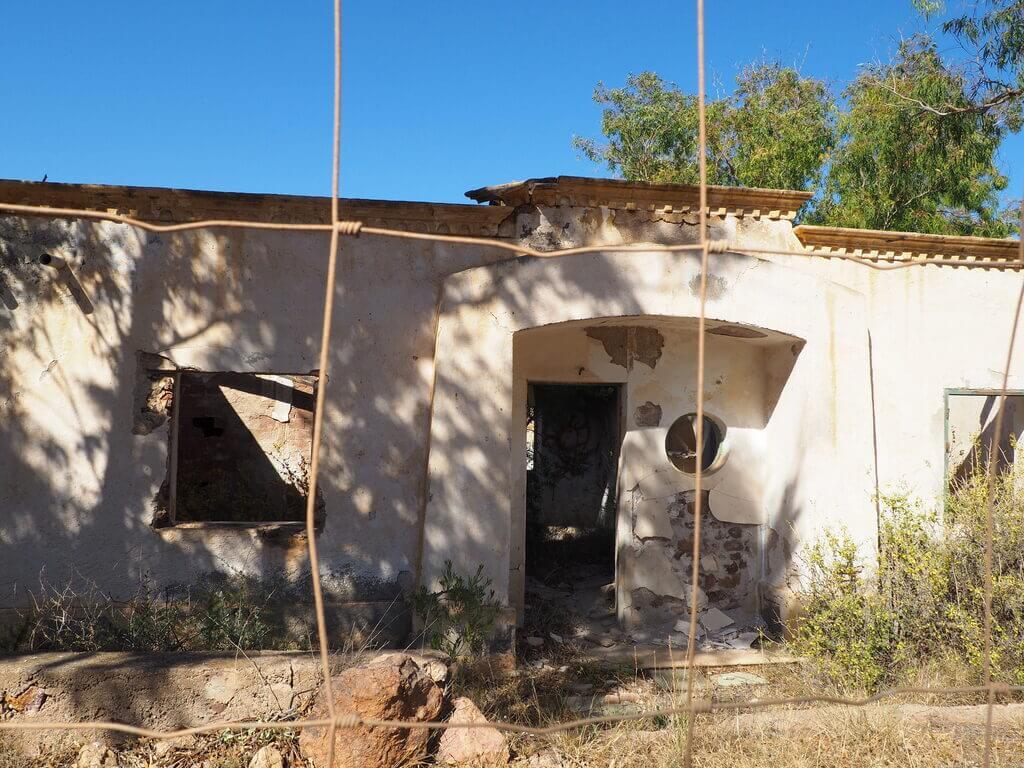 Antiguas casas de los mineros de Rodalquilar