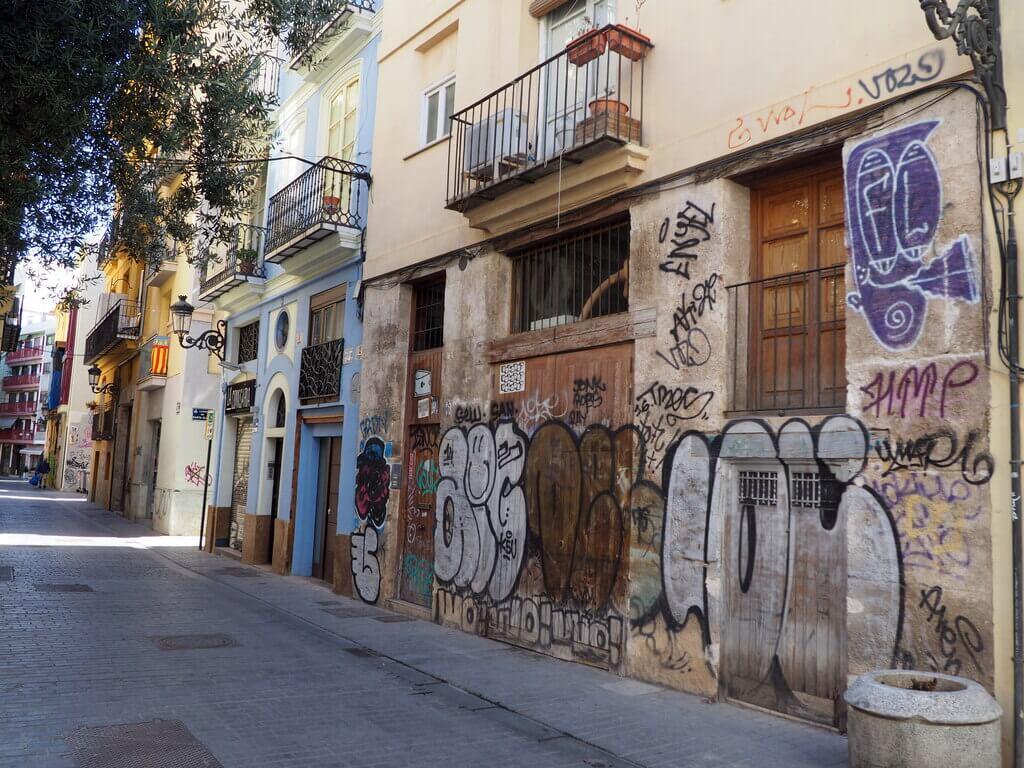 Una calle cualquiera de El Carmen