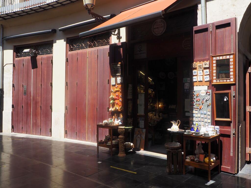 Una tienda del Clot