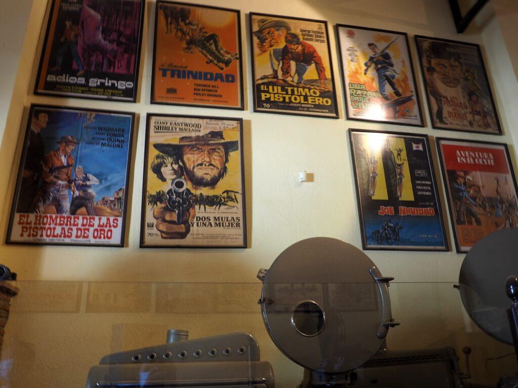 Antiguos proyectores de cine