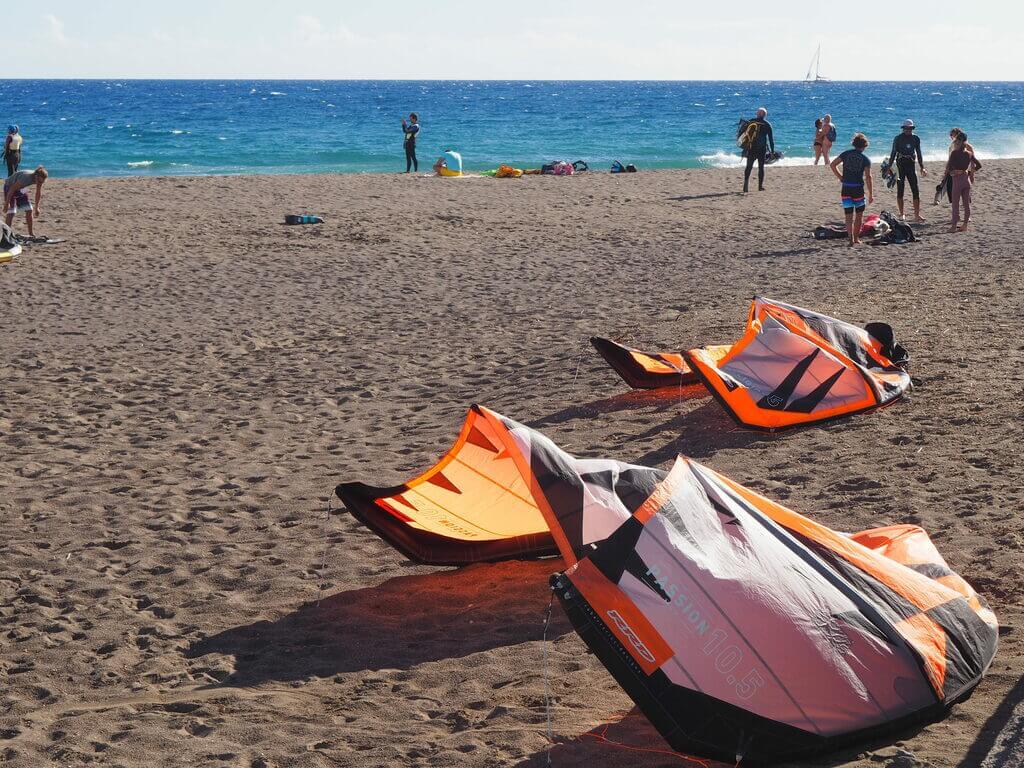 Kitesurf en La Tejita