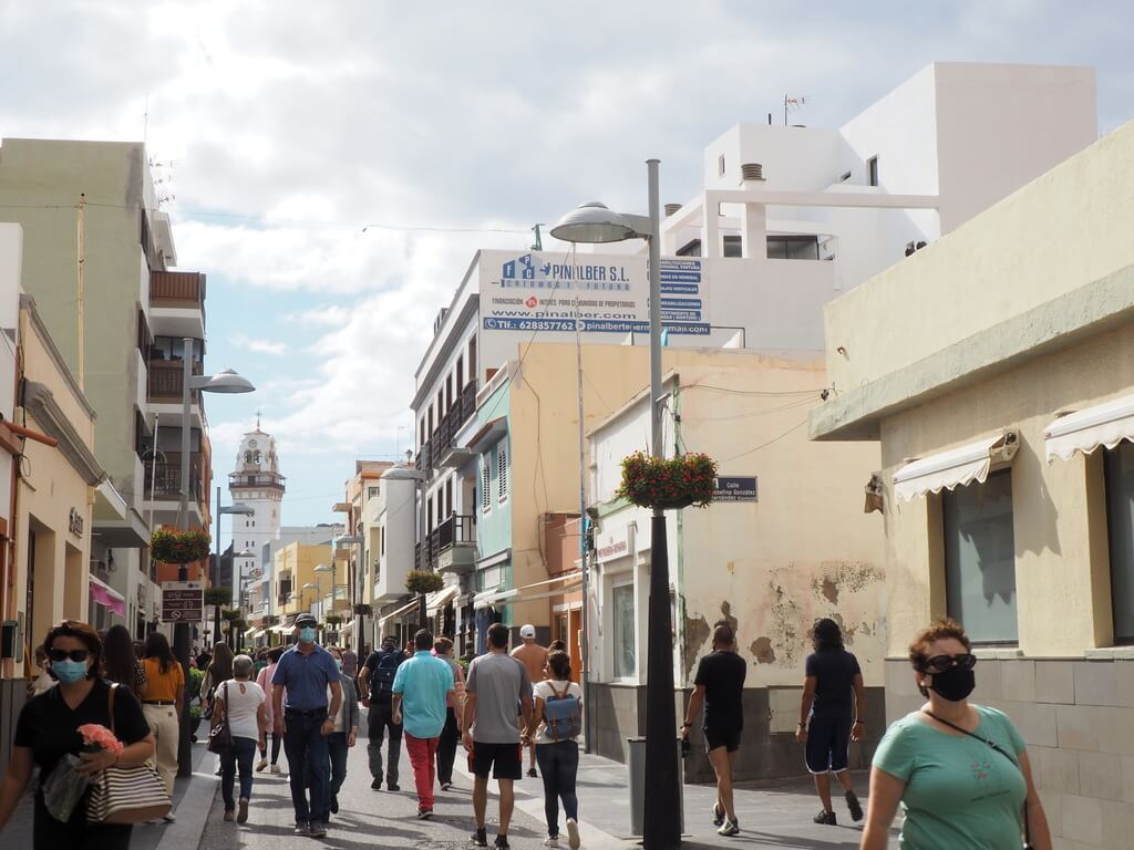 Calle Obispo Pérez Cáceres