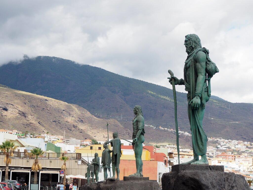 Los nueve menceyes guanches de Candelaria