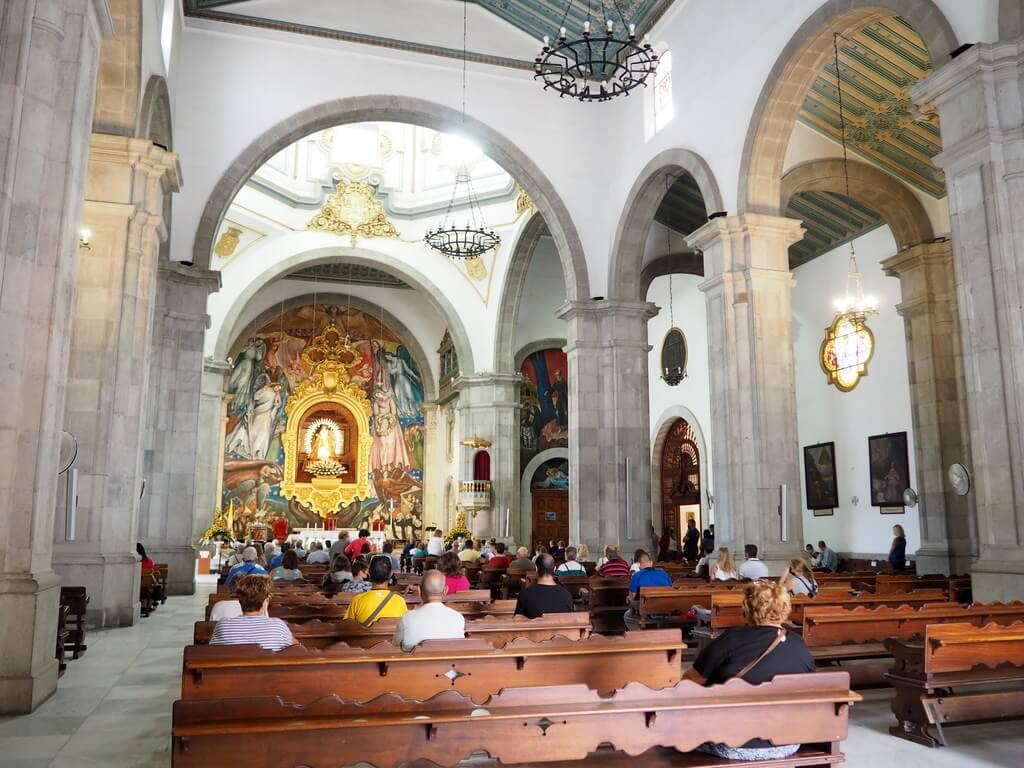 Interior Basílica de Ntra Sra de Candelaria
