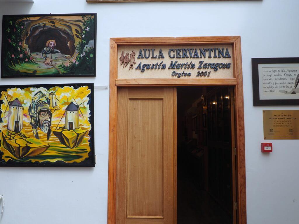 Sala Cervantina de Órgiva