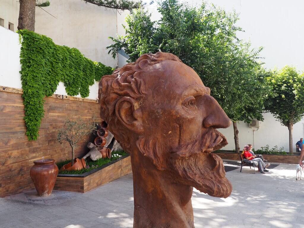 Escultura del Quijote en Órgiva