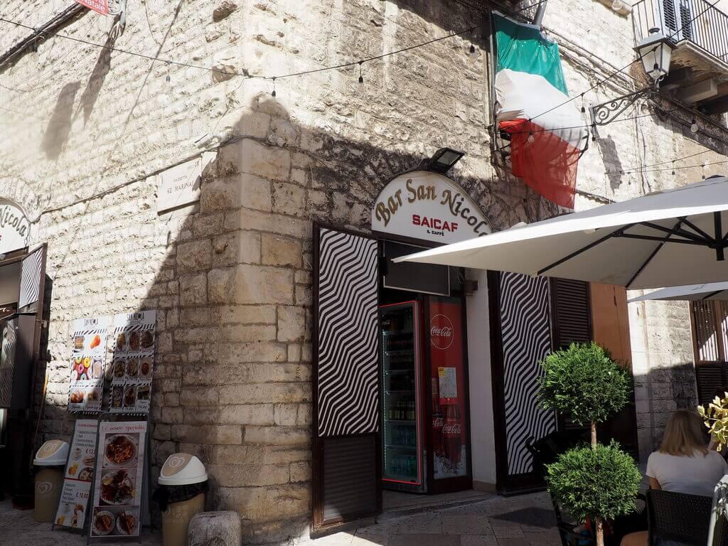 Bar donde sirven el desayuno del hotel