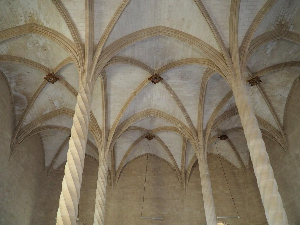 Interior de la Lonja
