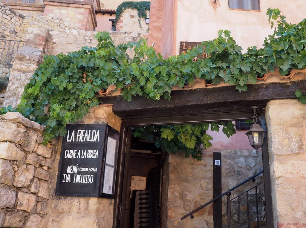 dónde comer en Albarracín