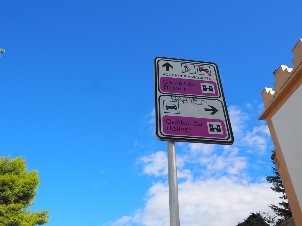 Indicaciones para llegar al Castillo de Bellver