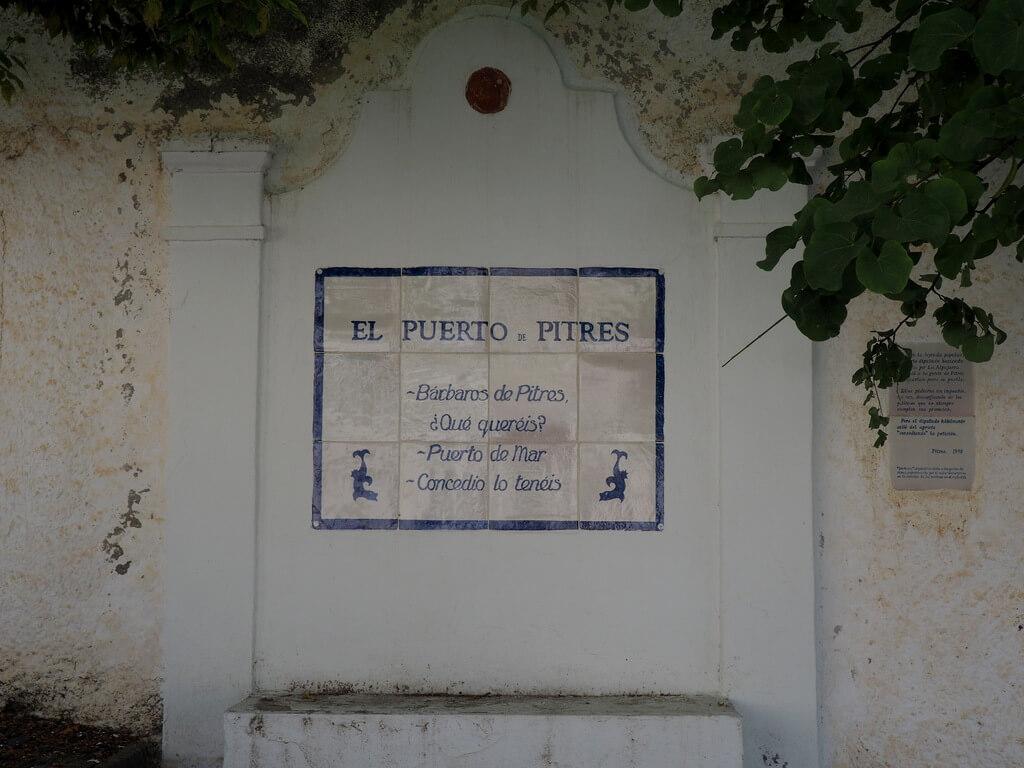 Pitres es puerto de mar