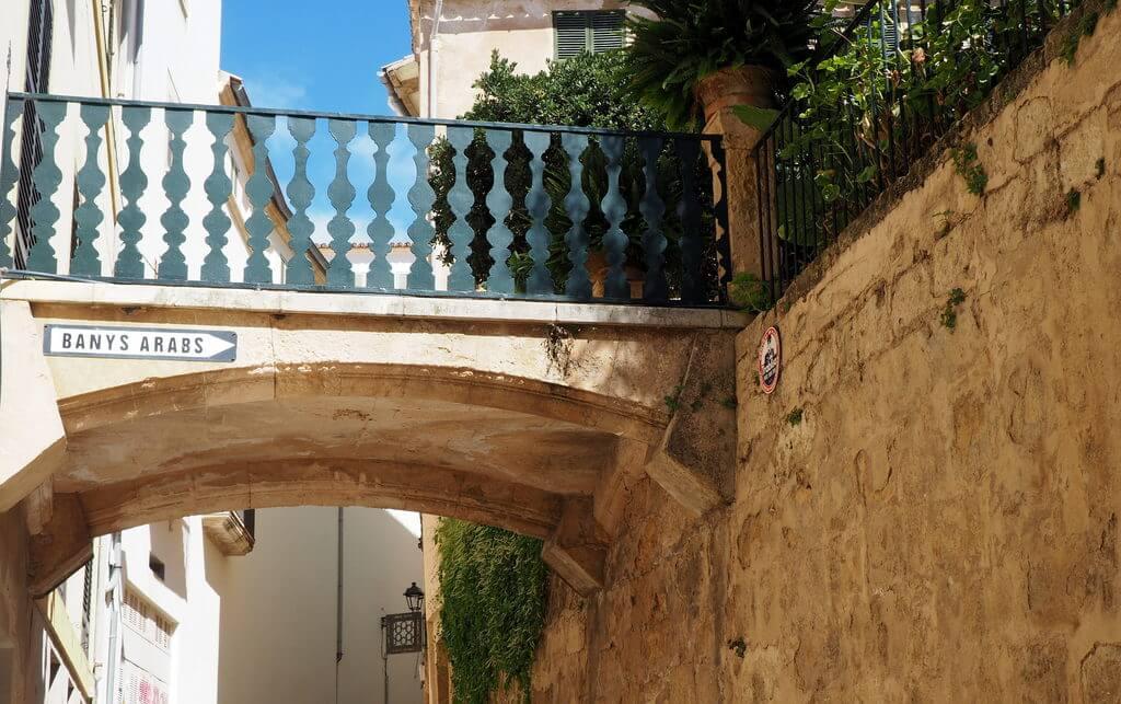 Entrada a los baños árabes de Palma