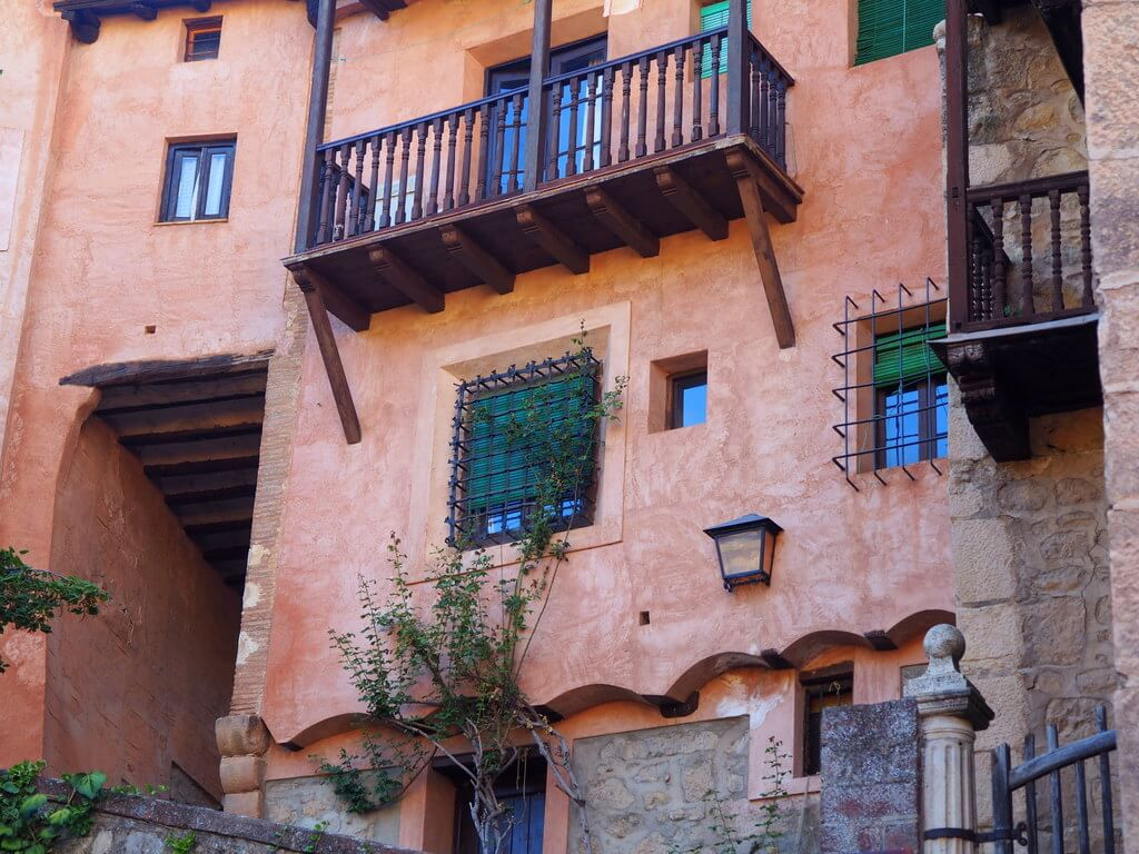 Arquitectura típica de Albarracín