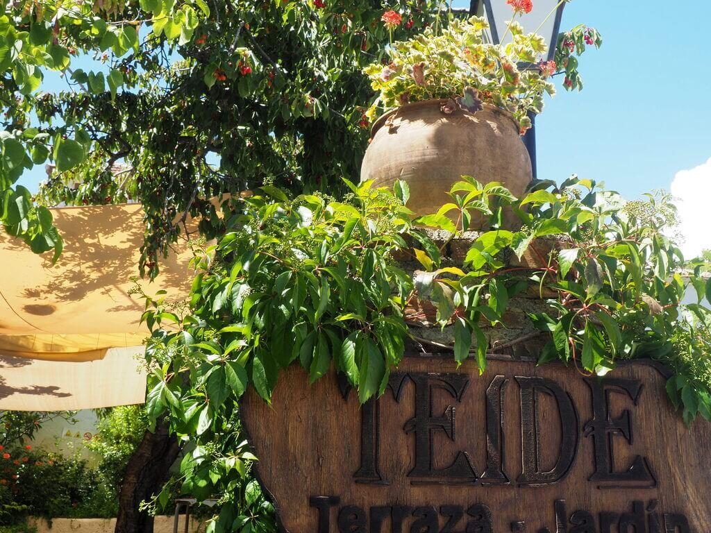 Puerta de entrada al Teide