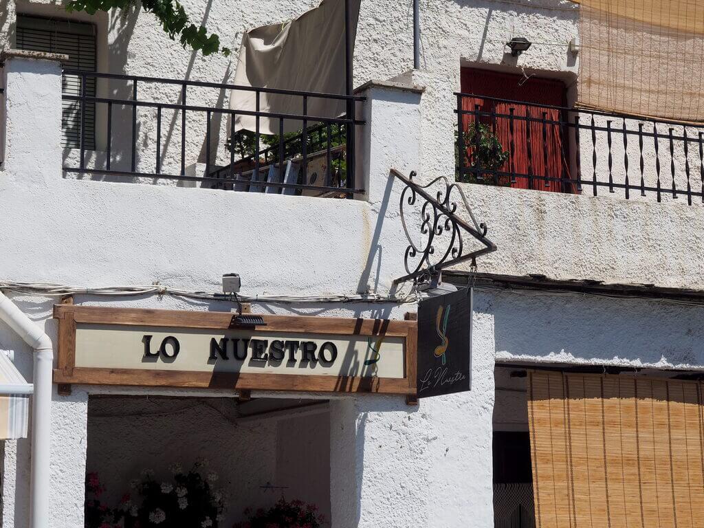 donde comer en la Alpujarra granadina