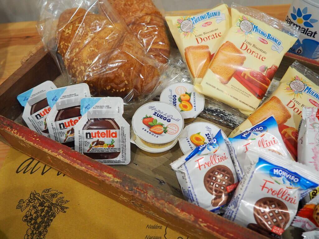 Desayuno de La Piazzetta