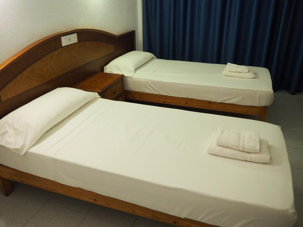 Nuestra habitación del Port Corona