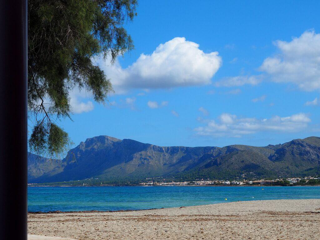 Belleza de paisaje que regala Son Serra de Marina