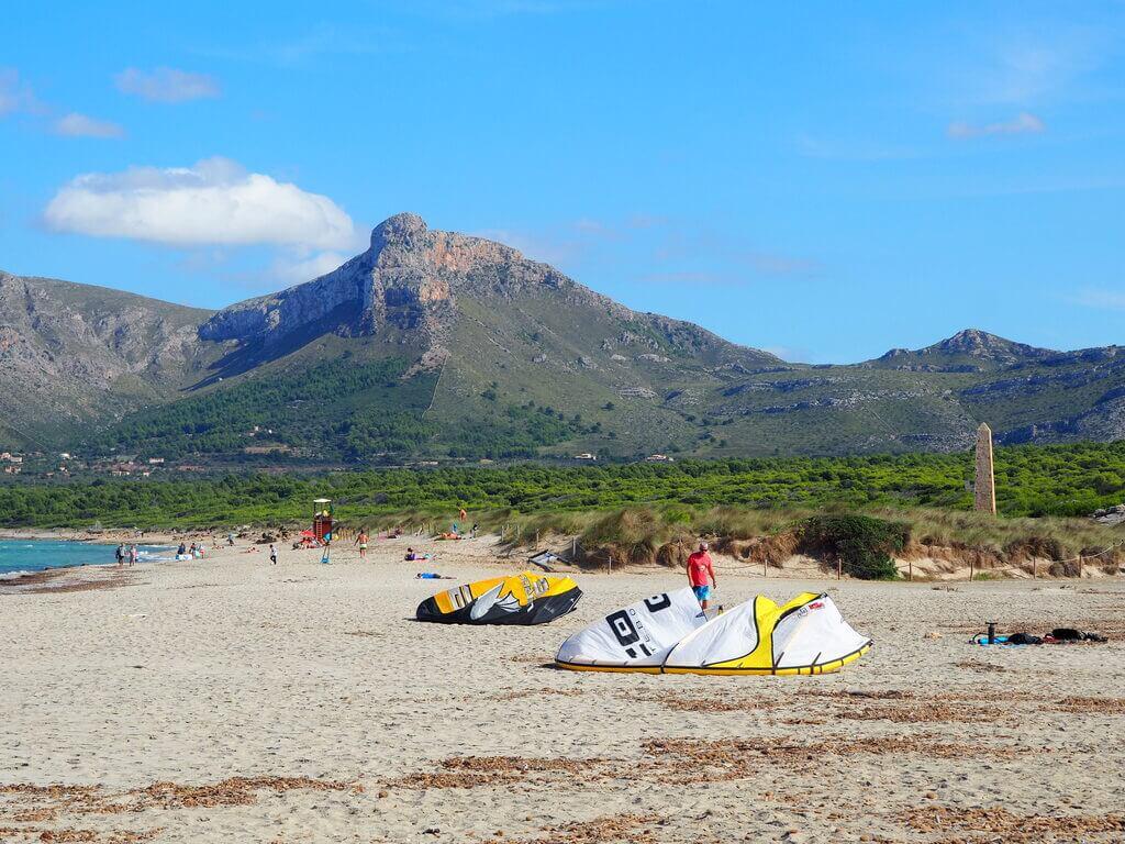 Deportes de viento en Son Serra de Marina