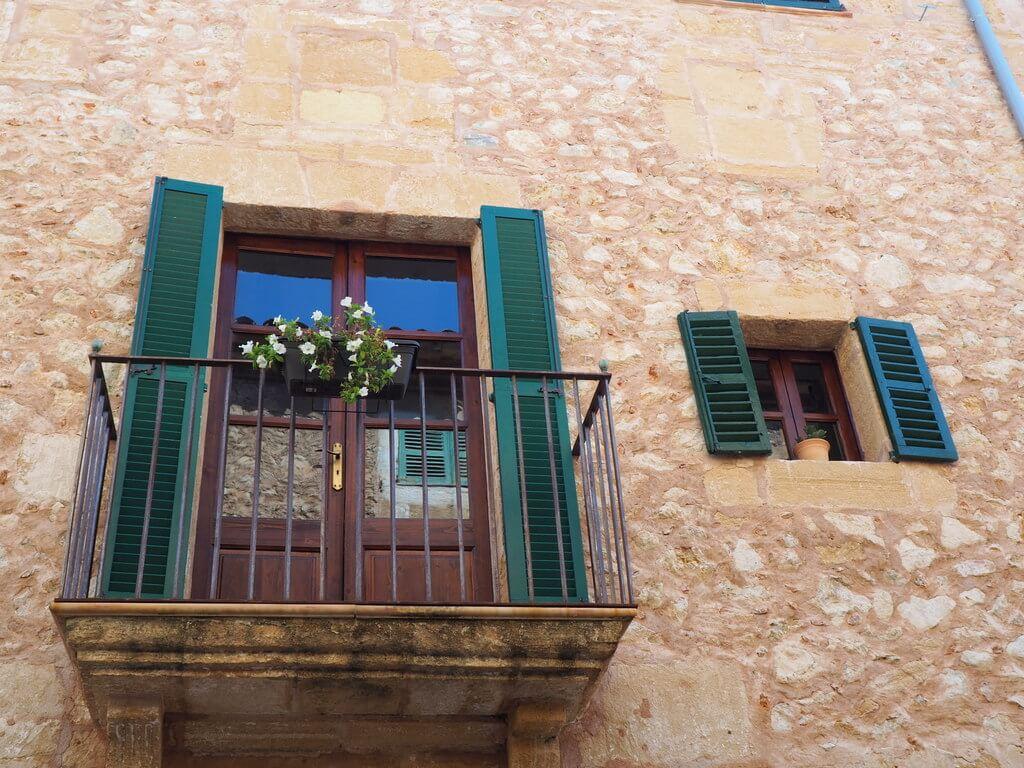 Balcón de una casa de Pollença