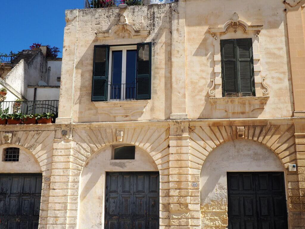 Fachada barroca en Lecce