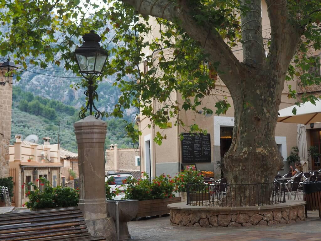 Plaza de España de Fornalutx