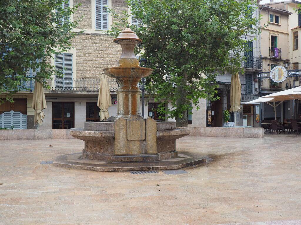 Plaza de la Constitución de Sòller