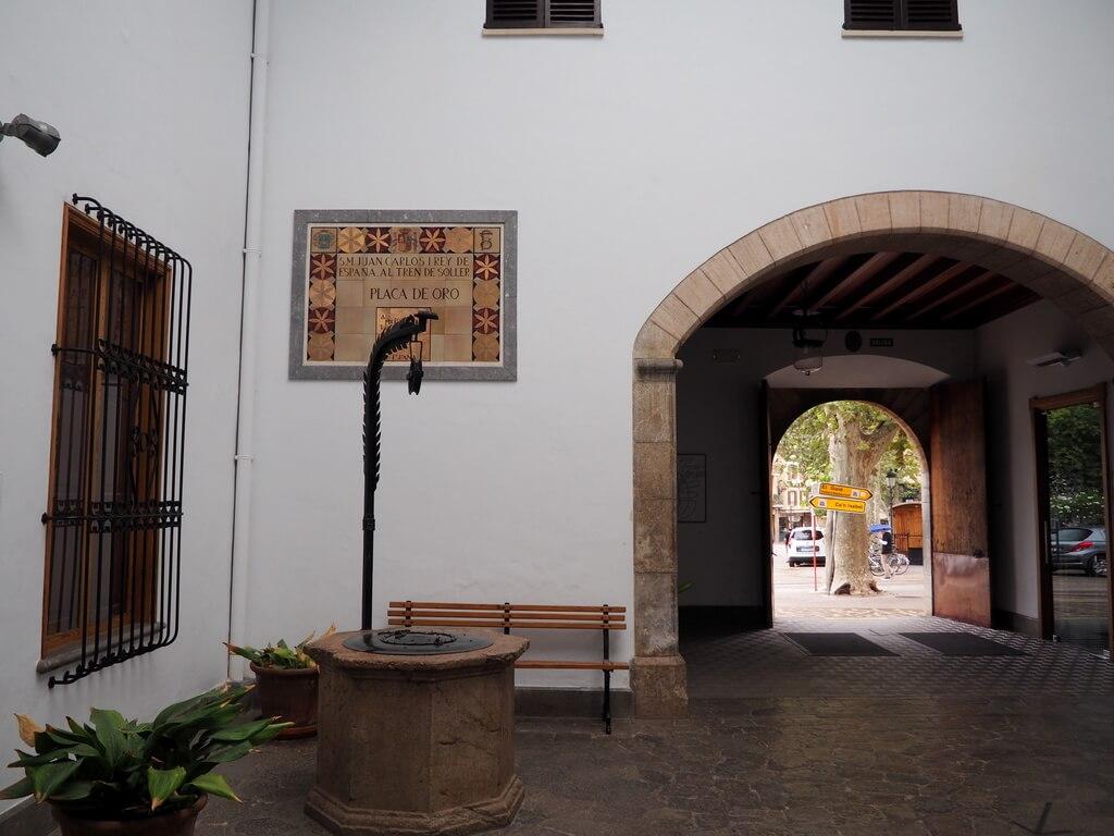 Interior de la Estación de Sòller