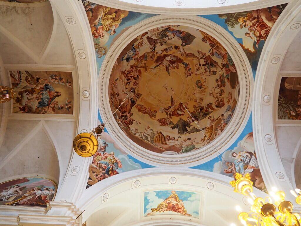 Frescos de Manuel Bayeu, cuñado de Goya