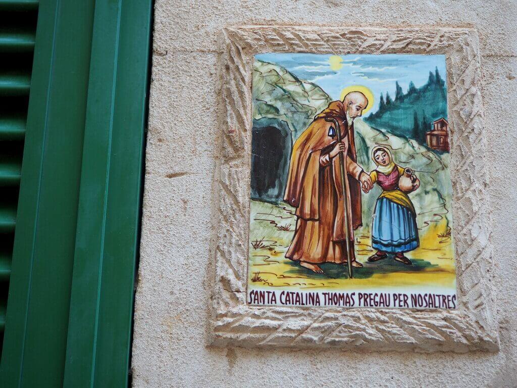 Placa de Santa Catalina de Thomas