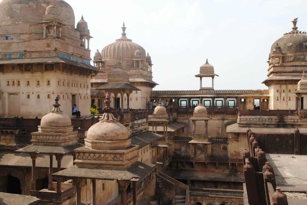 Cúpulas del Palacio Jahangir