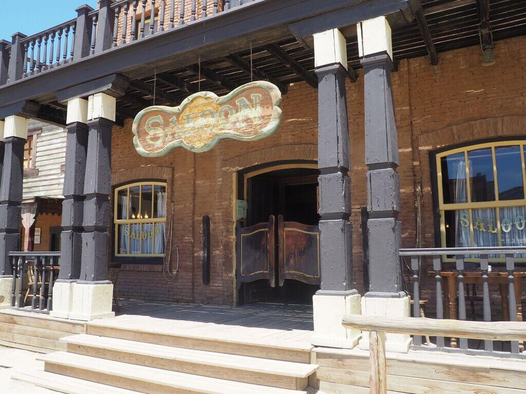 Saloon de Oasys Minihollywood