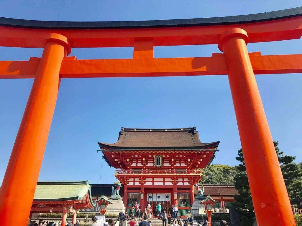 El Honden de Fushimi Inari Taisha